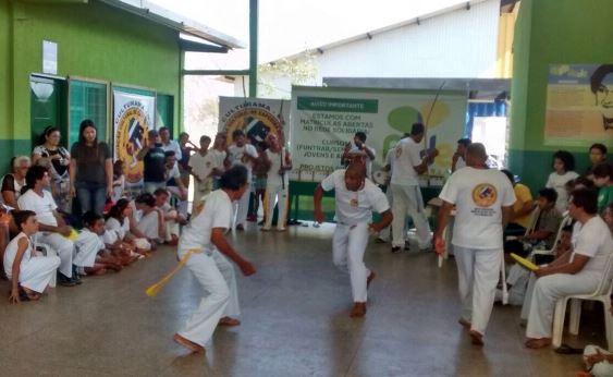 Equipe de Culturama conquista o 1º Campeonato de Capoeira do Rede Solidária