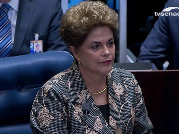 Veja e leia a íntegra do discurso de Dilma Rousseff no Senado
