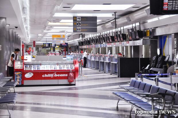 Aeroporto não registra atrasos neste domingo na Capital