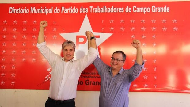 PT oficializa aliança com PCdoB e confirma Marcos Alex candidato