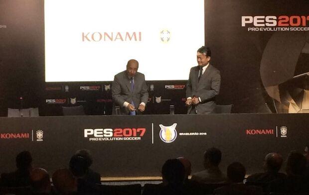 CBF e Konami acertam parceria e garantem Brasileirão no PES 2017