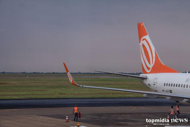 Aeroporto opera com oito voos nesta terça-feira