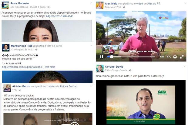 Com início da campanha, candidatos investem pesado nas redes sociais