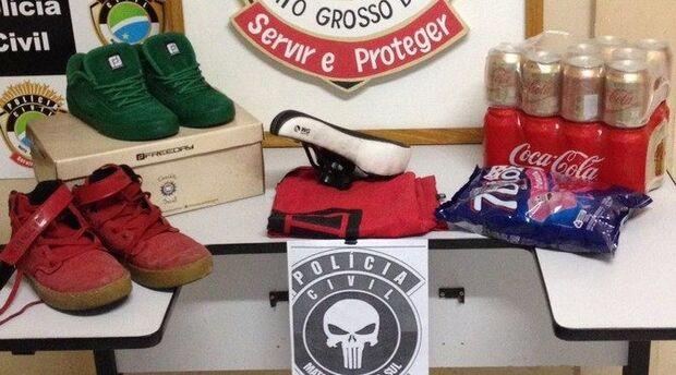 Polícia apreende adolescentes que invadiram e furtaram a Secretaria Municipal de Saúde de Bonito