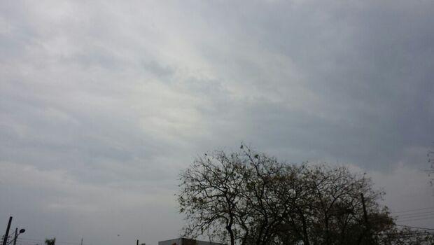 Previsão de chuva forte nesta segunda-feira em Campo Grande