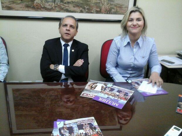 Após desistência do PRP, Coronel David anuncia advogada com candidata a vice