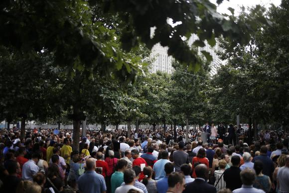 EUA param para relembrar vítimas do 11 de setembro