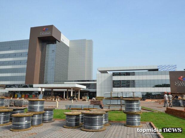 Construído para ser referência em MS, Hospital da Cassems recebe licença ambiental para instalação