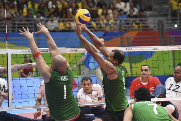 Brasil perde para o Egito no vôlei sentado e agora tem de vencer a Alemanha