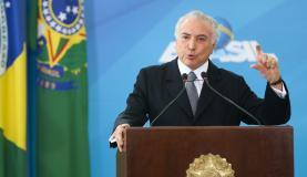 Após lamentar morte de Shimon Peres, Temer reúne-se com presidente da Câmara
