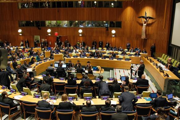 Acolher refugiados é responsabilidade compartilhada, diz Temer na ONU