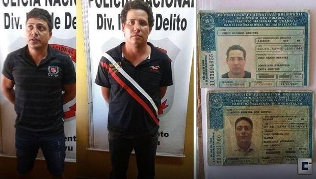 Suspeitos de executarem empresários brasileiros no Paraguai são presos