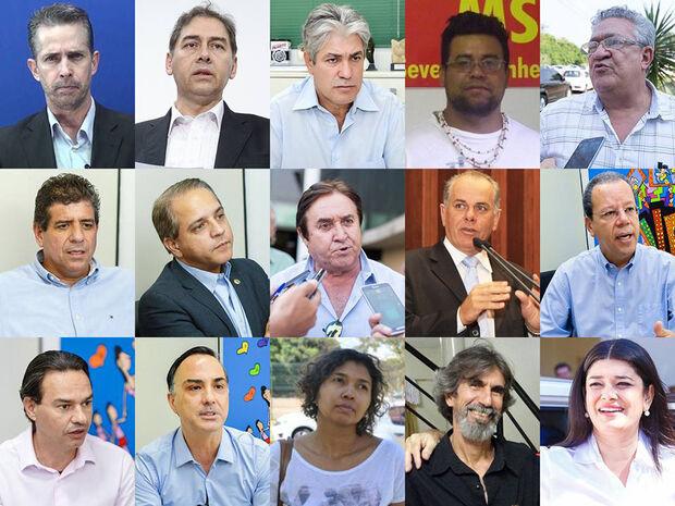Candidatos à prefeitura de Campo Grande já receberam R$ 1,4 milhão em doações