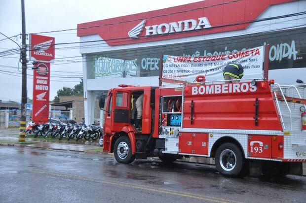 Princípio de incêndio assusta funcionários de loja de Campo Grande