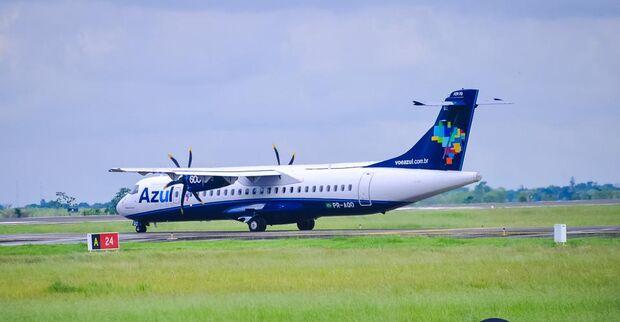 Azul deixa de operar voos entre Campo Grande e Guarulhos