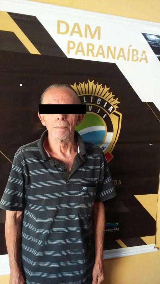 Idoso de 74 anos é preso após estuprar meninas de 6 e 8 anos em MS