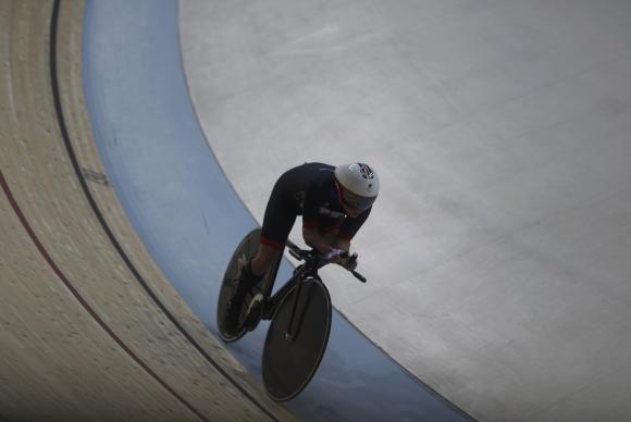Britânica quebra recorde paralímpico no ciclismo