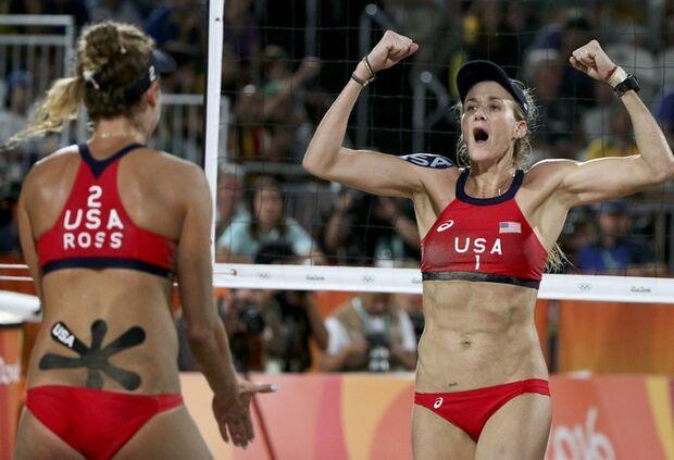 No mercado: tricampeã olímpica Kerri Walsh está à procura de parceira