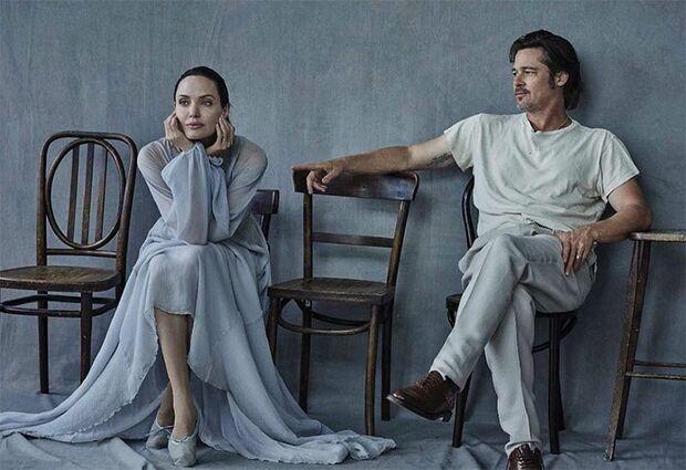 Patrimônio não será a briga maior de Angelina e Brad Pitt