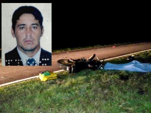 Motociclista bate em retrovisor de veículo, cai e morre na BR-060