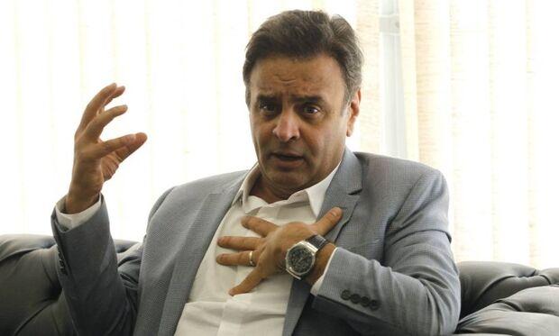 'Sem o apoio do PSDB, não existirá governo Temer', afirma Aécio