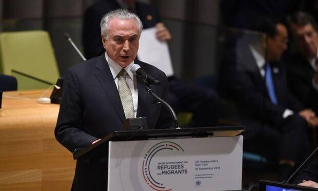 Brasil já recebeu 95 mil refugiados e está modernizando políticas do setor, diz Temer em NY