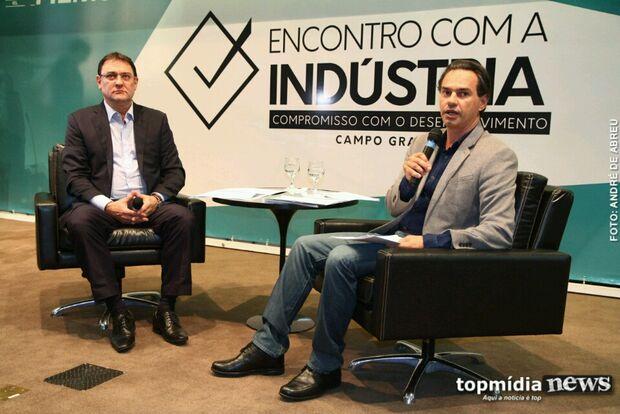 Em debate da Fiems, Marquinhos promete agilizar crescimento industrial em Campo Grande