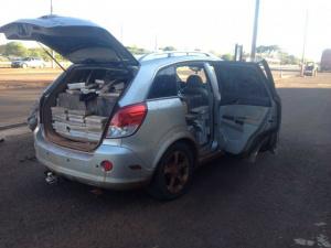 Motorista é preso tentando fugir com 700 Kg de maconha
