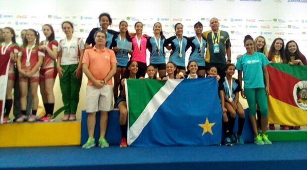 Handebol feminino de MS é campeão dos Jogos Escolares na Paraíba