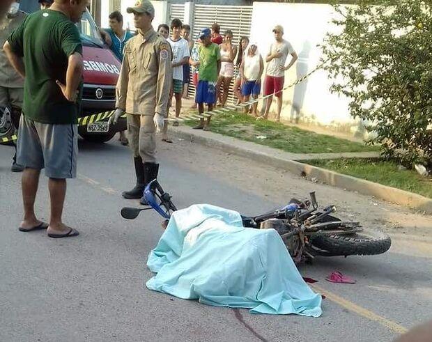 Menina de 11 anos morre após ser atropelada por motociclista em MS