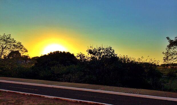 Domingo de calor em todo o Mato Grosso do Sul