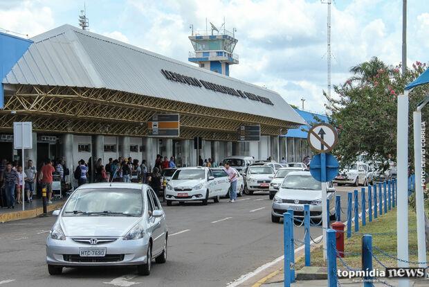 Aeroporto opera sem atrasos ou cancelamentos em Campo Grande