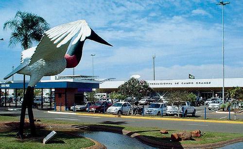 Aeroporto opera normalmente em Campo Grande
