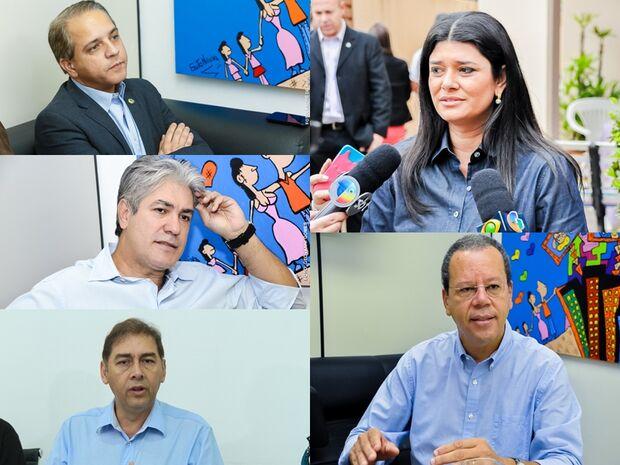 Candidatos concedem entrevistas, realizam caminhadas e se reúnem com moradores na Capital