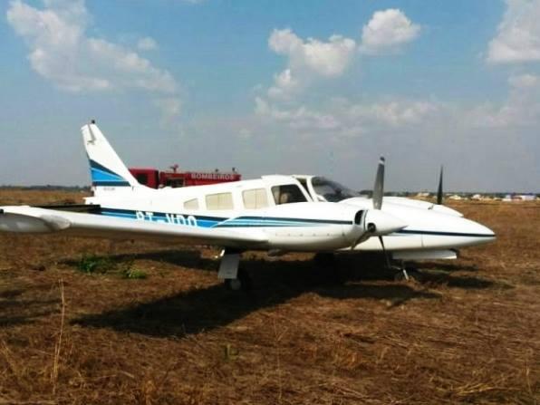 Aeronave cai em MS e Esquadrão Pelicano faz resgate