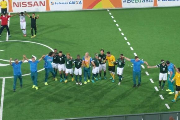 Brasil vence Irã por 1 a 0 e ganha quarto ouro seguido no futebol de cinco