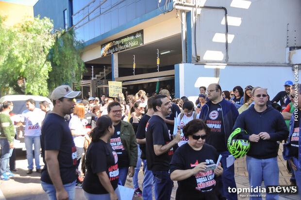 Servidores da Reme que aderiram à greve denunciam falta de pagamento há dois meses