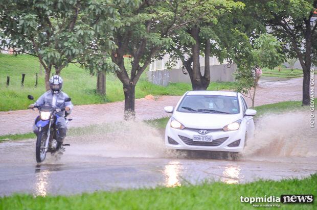 Domingo será frio e chuvoso em Mato Grosso do Sul