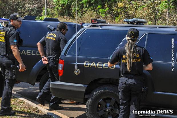 Gaeco deflagra Operação Água Benta em sete cidades de MS