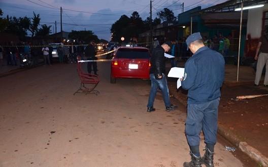 Policial sofre atentado em Pedro Juan Caballero e é socorrido em estado grave