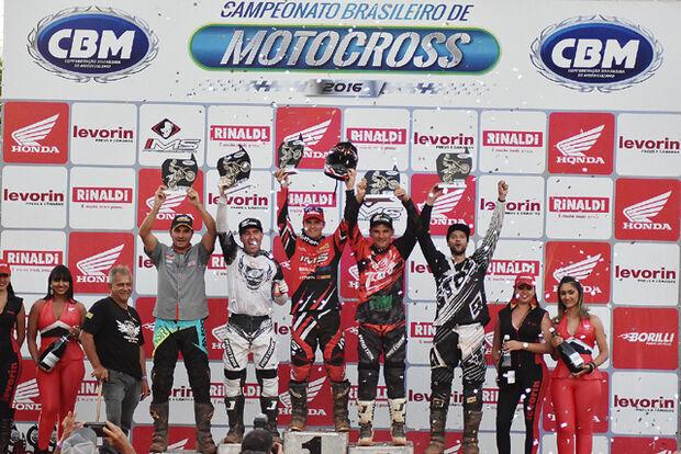 Pilotos de MS se destacam no Brasileiro de Motocross em Goiás