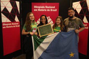 Estudantes de escola estadual de MS ganham medalha na Olimpíada de História