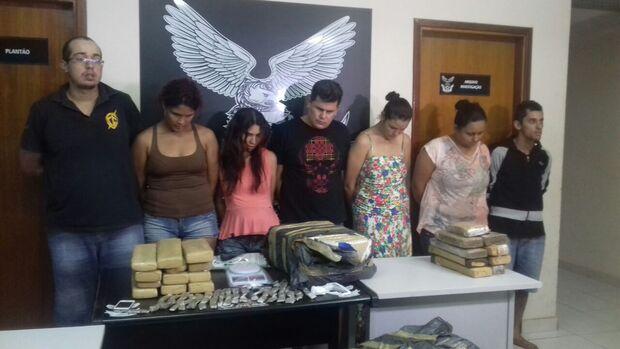Em menos de 24 horas, Denar prende sete pessoas por tráfico de drogas na Capital