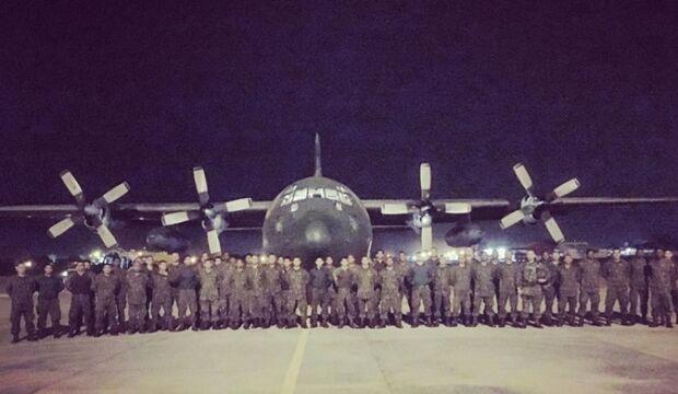 Com missão cumprida nas olimpíadas, 136 fuzileiros navais retornam a Corumbá
