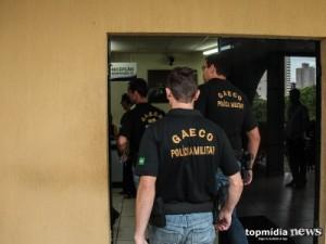 Gaeco cumpre dois mandados de prisão e faz busca e apreensão em Campo Grande