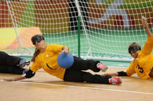 Brasil perde para a China na prorrogação por 4 a 3 no goalball feminino