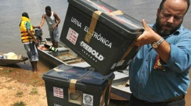 Marinha e Exército vão transportar eleitores do Pantanal no domingo