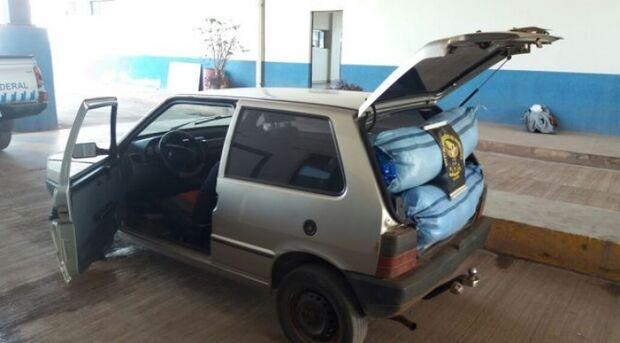 DOF prende um por tráfico, dois foragidos e apreende carga avaliada em R$ 550 mil