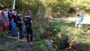 Homem morto encontrado em vala é identificado e sofria de tuberculose
