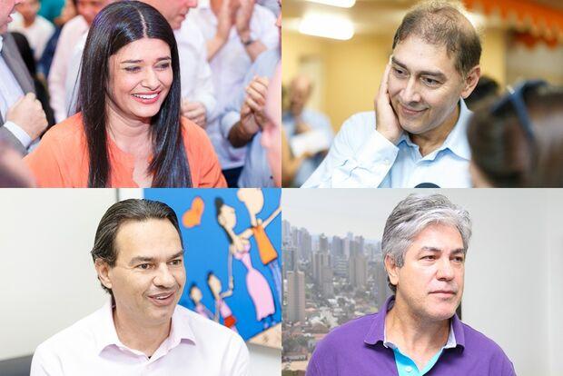 Propaganda eleitoral é recheada de críticas à administração e troca de alfinetadas entre candidatos